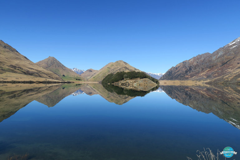 Responsible travellers follow the Leave No Trace principles at Moke Lake, New Zealand