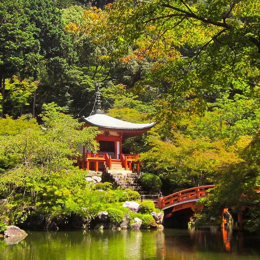 Temples & Gardens
