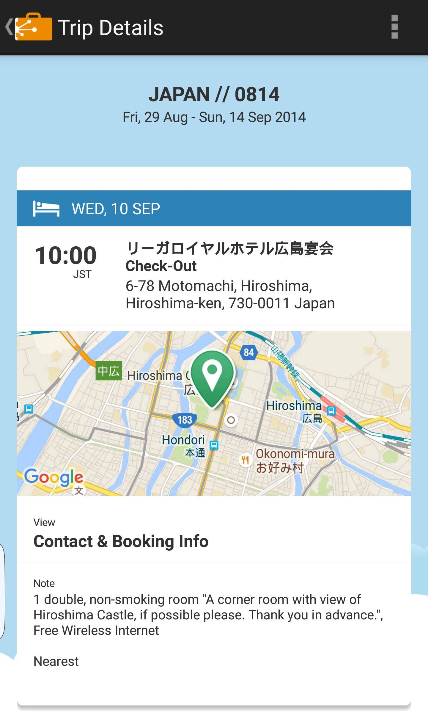 TripIt Travel Itinerary App for Mid Range Travel | The Invisible Tourist