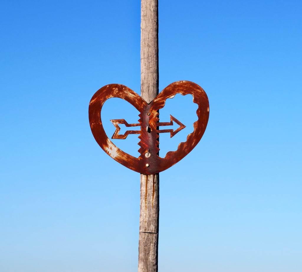 Heart on the City to Sea Bridge