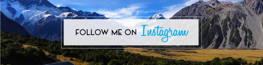 Follow Me on Instagram | The Invisible Tourist