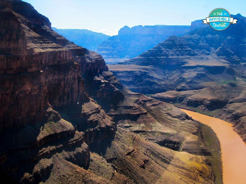 Helicopter ride over the Grand Canyon, NV, United States
