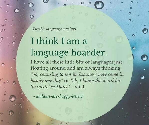 Language Hoarder
