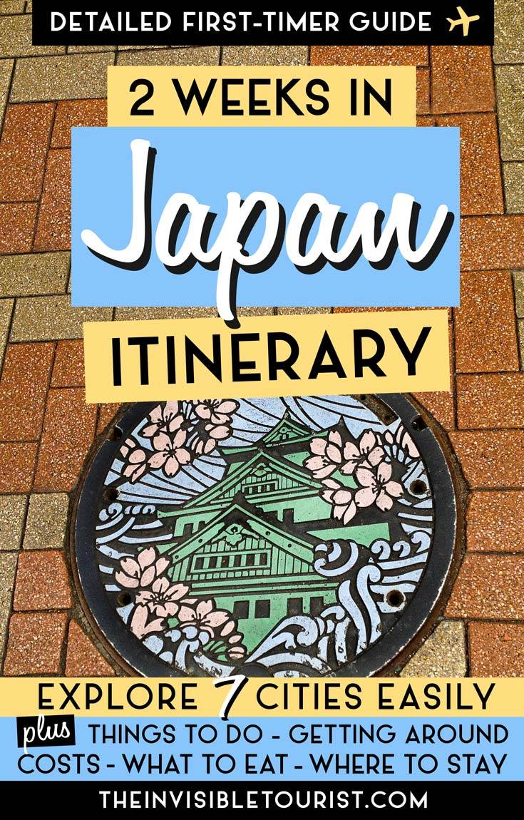 2 Weeks in Japan Itinerary: 2019 Complete Guide for First-Timers