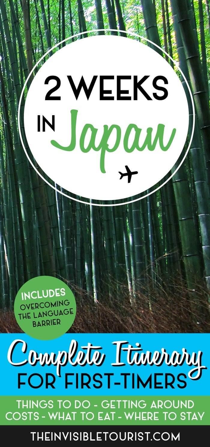 2 Weeks in Japan Itinerary: Complete Guide for First-Timers | The Invisible Tourist #japan #tokyo #kyoto #osaka #nara #hiroshima #miyajima #hakone #japanitinerary #thingstodoinjapan #visitjapan #onlyinjapan #whattodoinjapan #japantravel