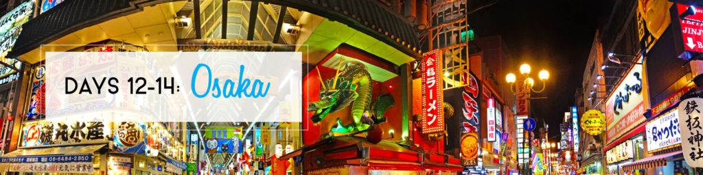 2 Weeks in Japan Itinerary: Osaka | The Invisible Tourist