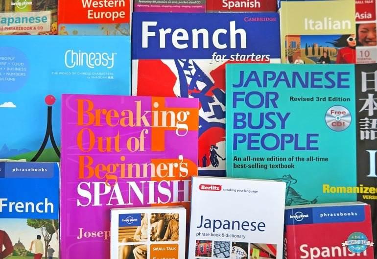 Livres d'apprentissage des langues