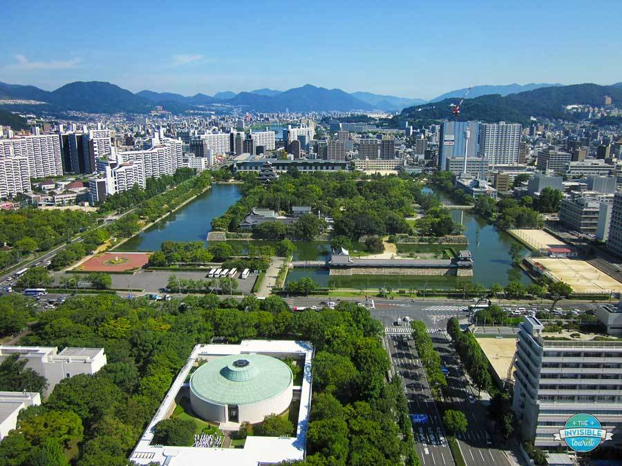View from Rihga Royal Hotel, Hiroshima