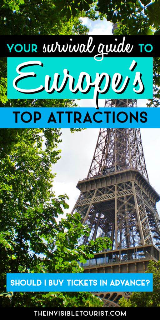 Buy Tickets in Advance? Your Survival Guide to Europe's Top Attractions | The Invisible Tourist