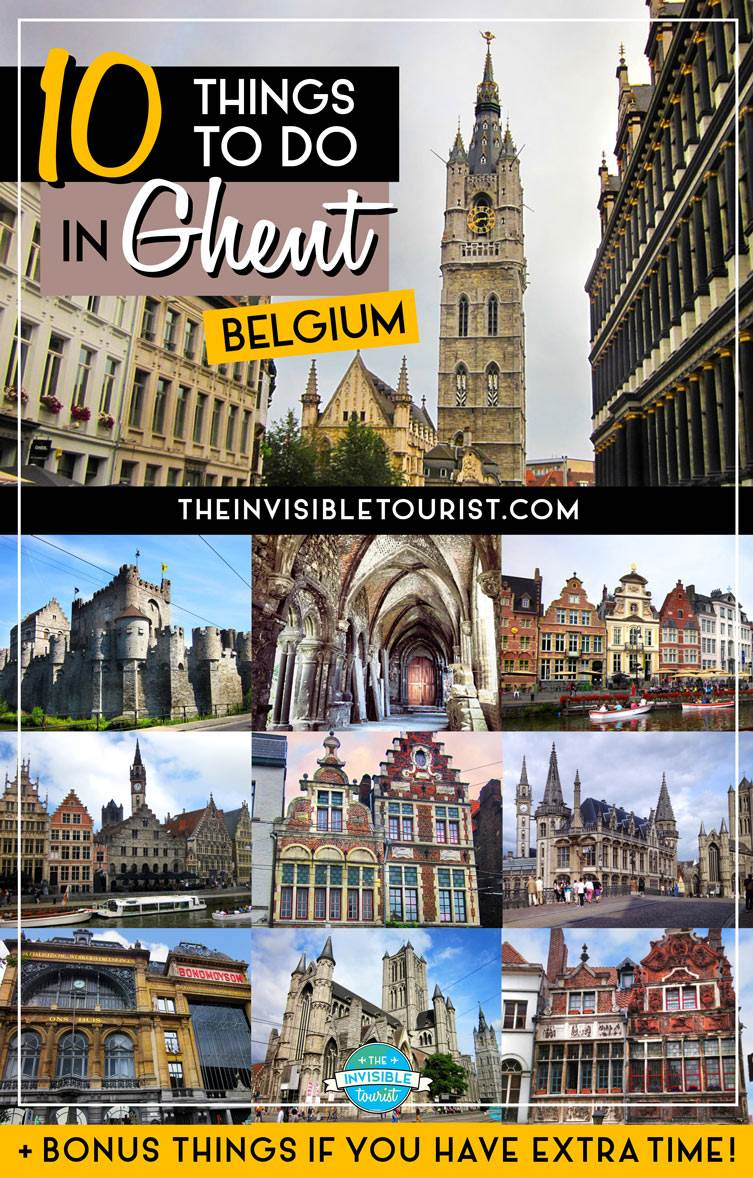 10 Things to do in Ghent: The Gem of Belgium • The Invisible Tourist
