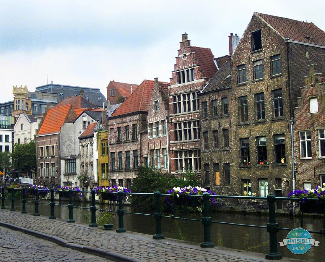 Beautiful canals of Ghent