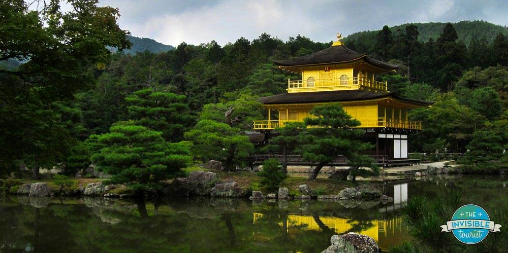 It's easy to see why Kinkaku-ji is one of Kyoto's biggest drawcards!