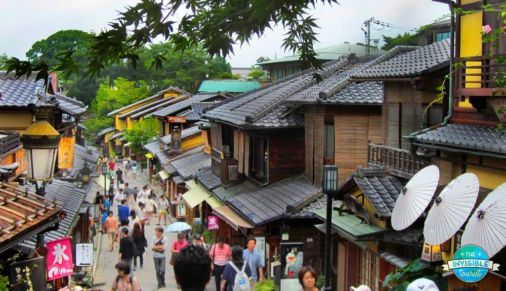The astonishing preserved streets of Sannenzaka & Ninnenzaka, Gion