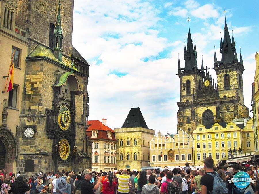 Astronomical Clock & Old Town Square, Prague