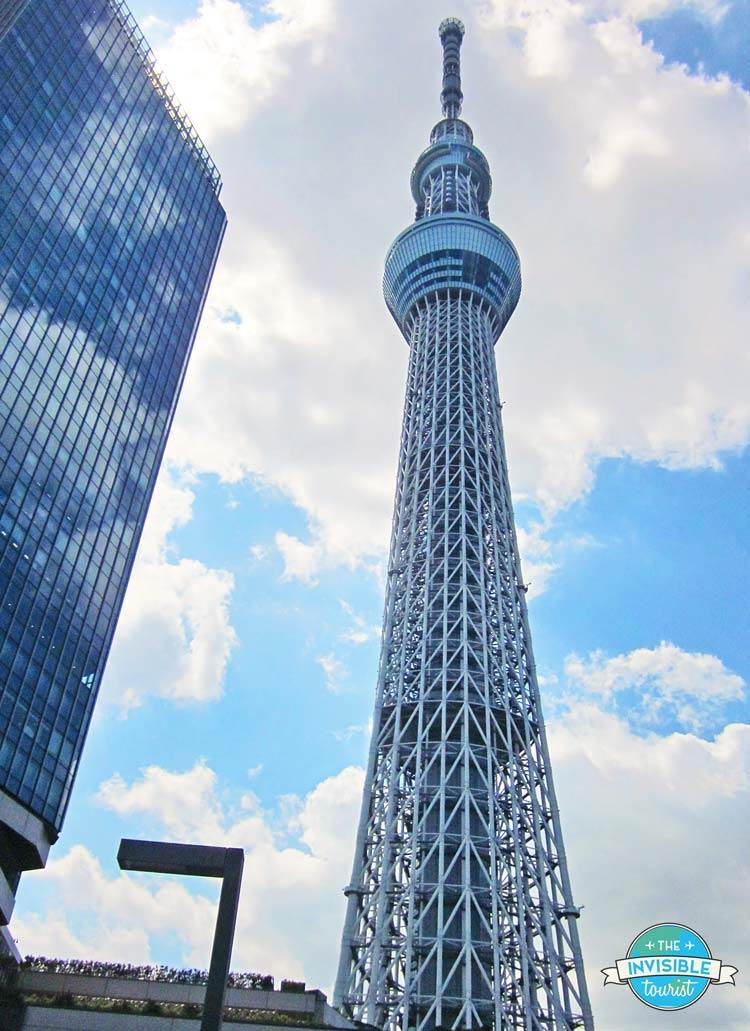 The mighty Tokyo Skytree