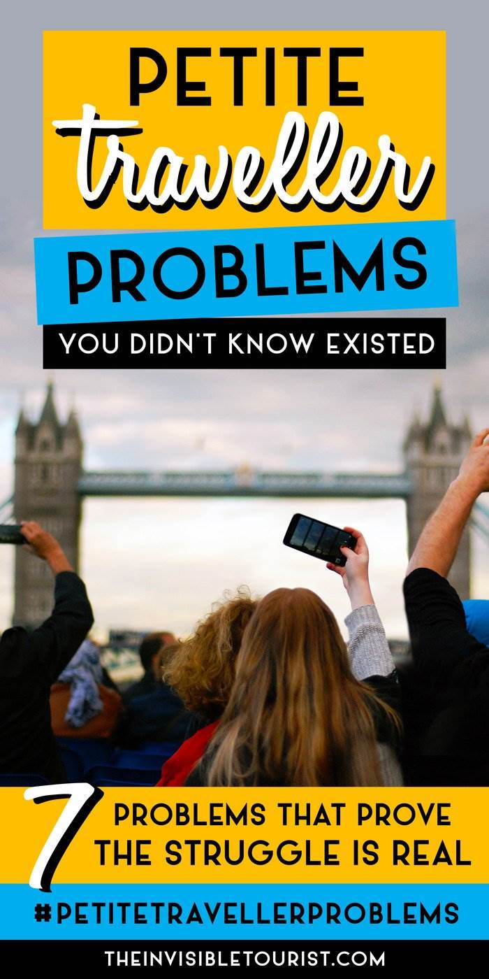 7 Petite Traveller Problems You Didn't Know Existed | The Invisible Tourist