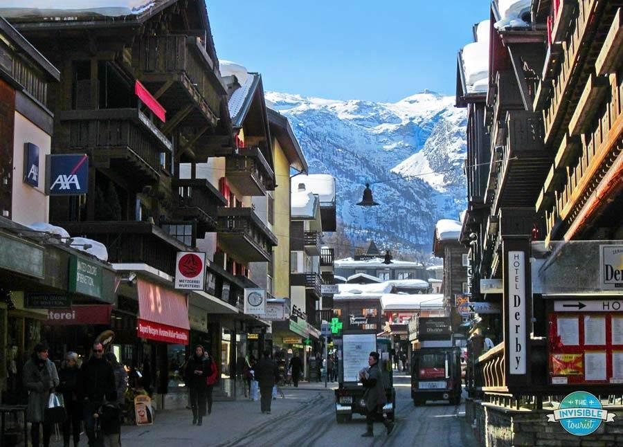 Winter wonderland in Zermatt, even for non-skiers