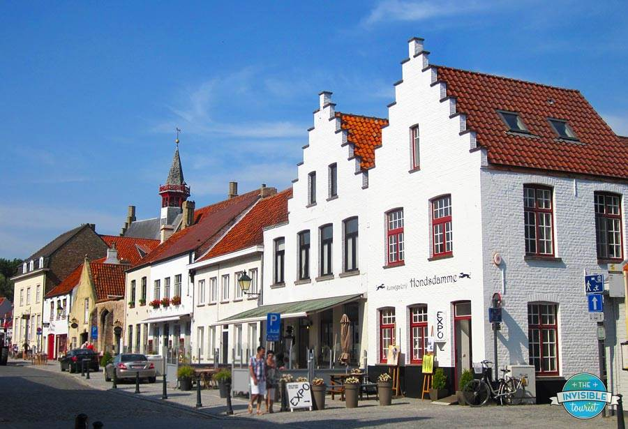 Restaurants and shops in Damme