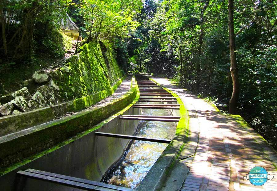 Nanzen-ji's working aqueduct