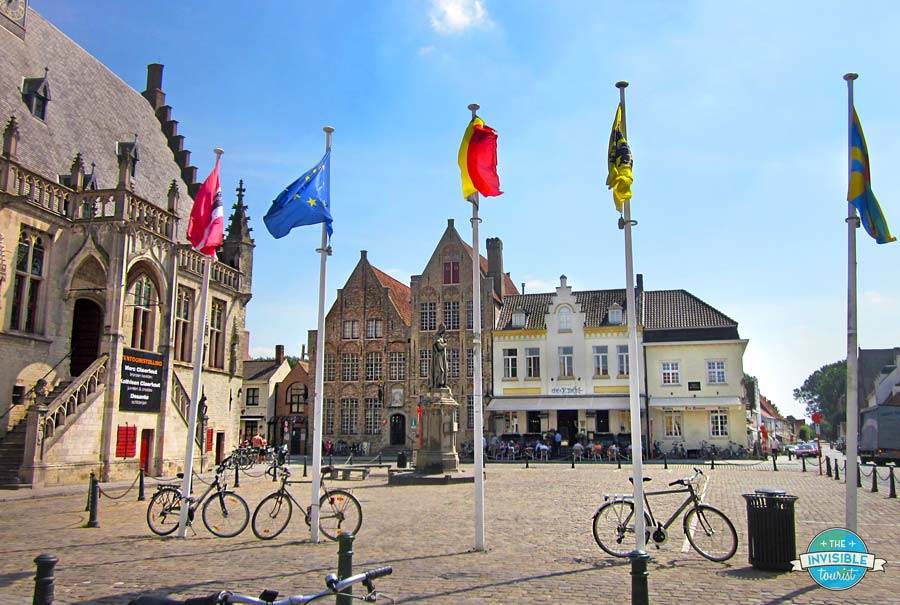 Damme Town Hall & Town Square