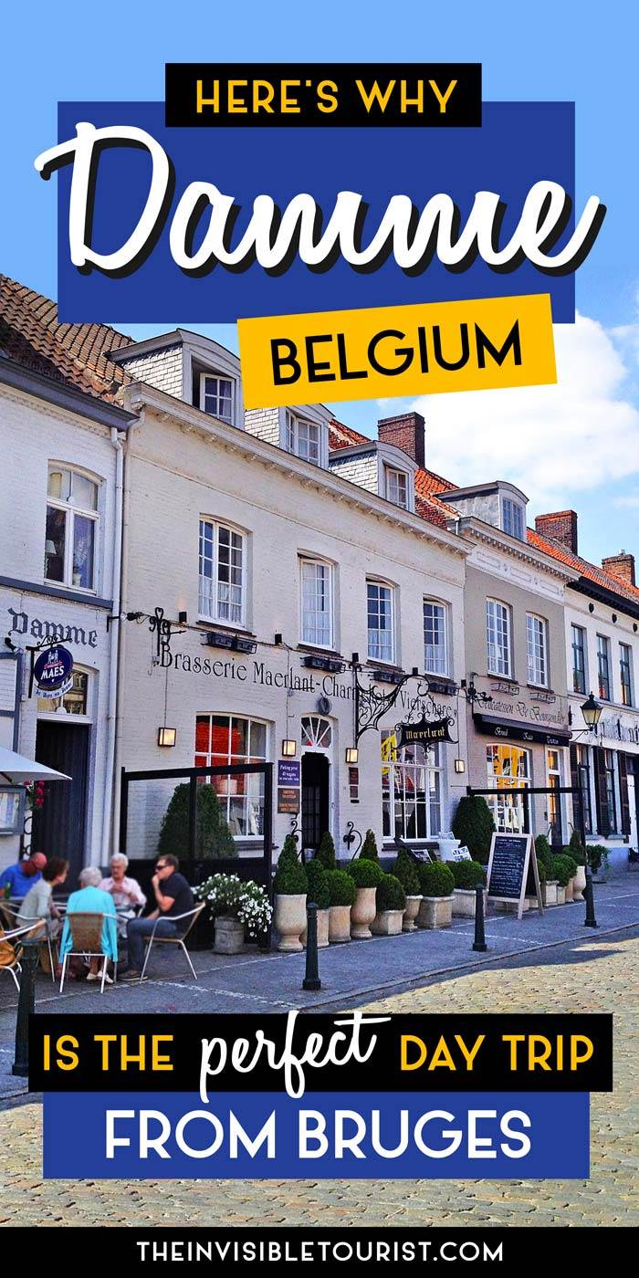 The Perfect Day Trip from Bruges: Damme, Belgium | The Invisible Touristbelgium #damme #bruges #daytrip #invisibletourism