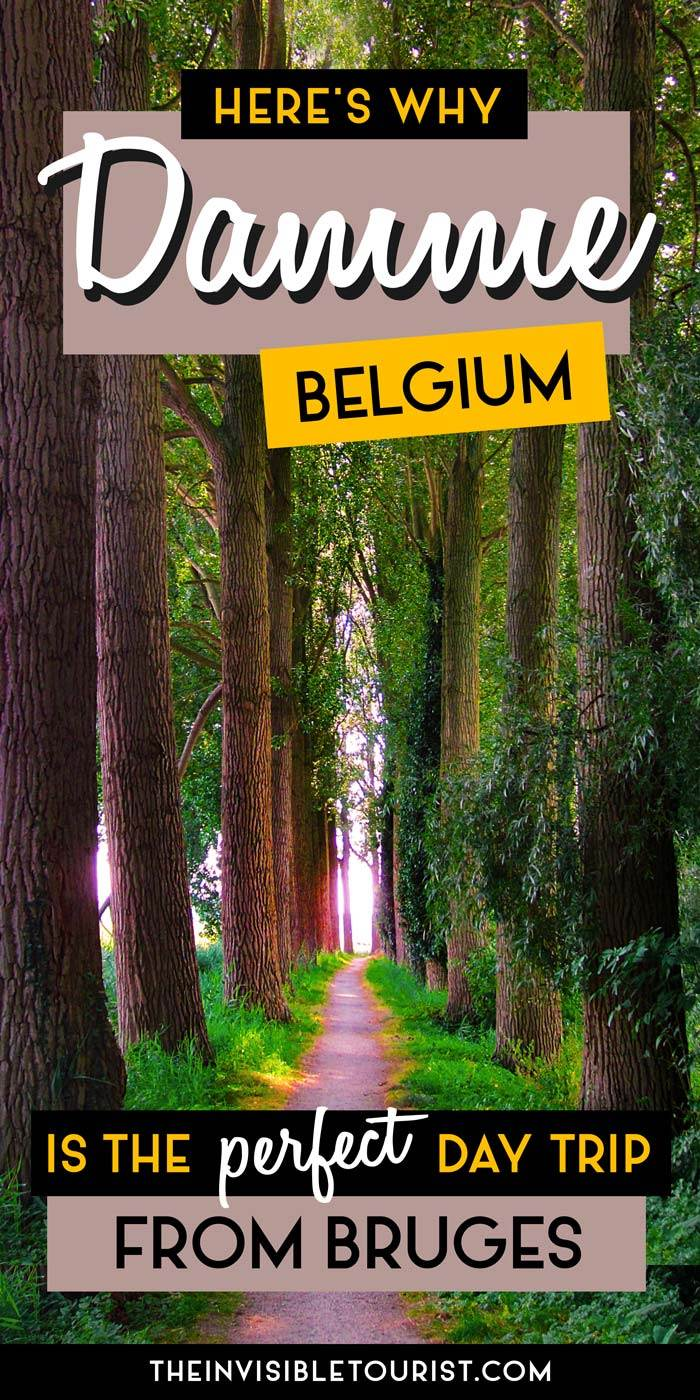 The Perfect Day Trip from Bruges: Damme, Belgium | The Invisible Tourist #belgium #damme #bruges #daytrip #invisibletourism