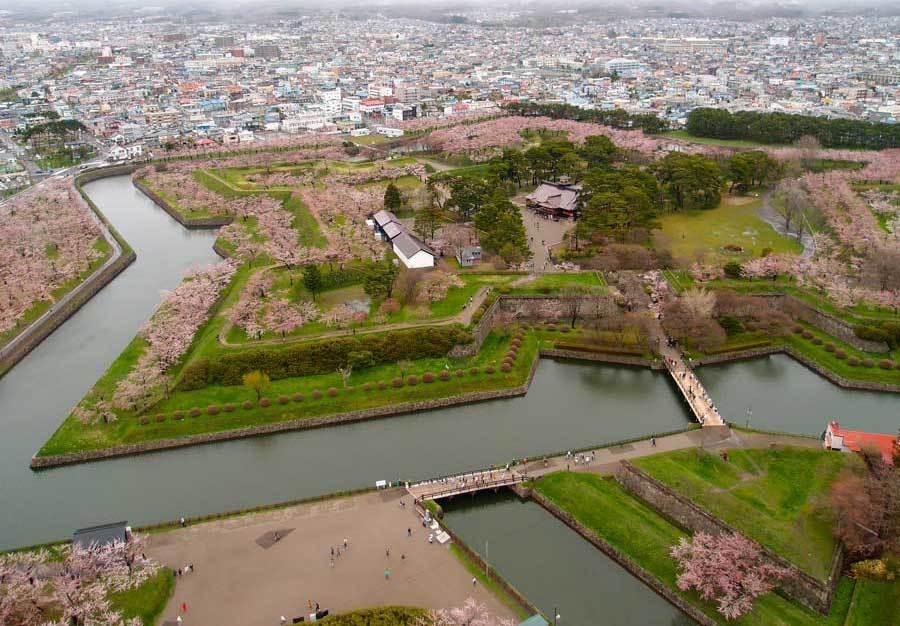 Fort de Goryokaku, Hokkaido