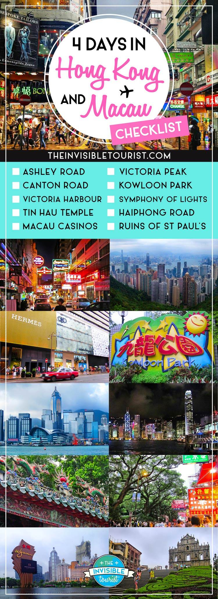 Hong Kong Itinerary: Complete Guide + Macau Day Trip • The Invisible Tourist