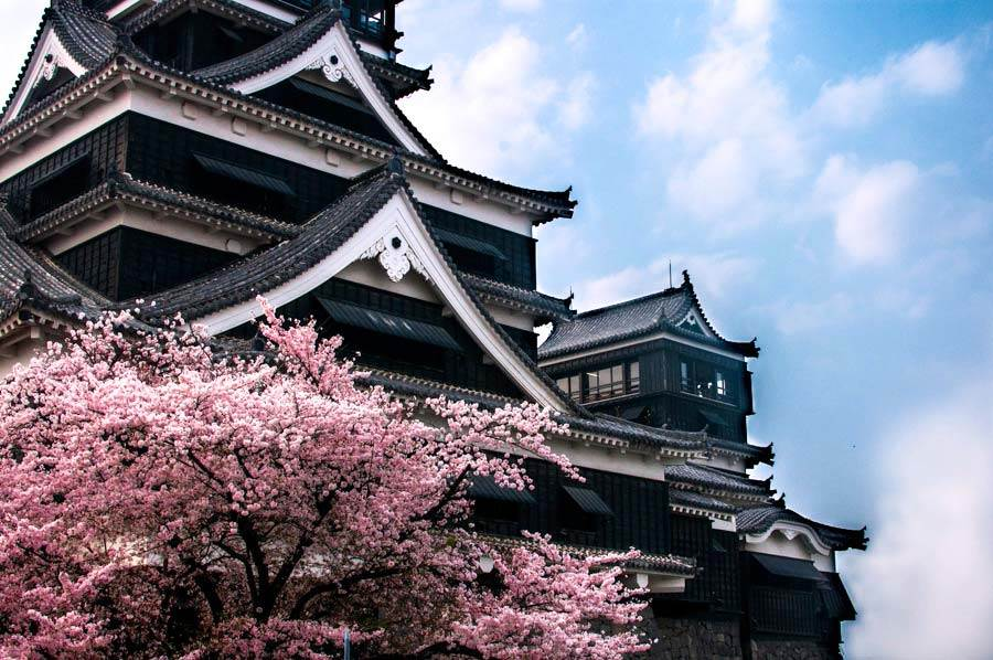 Kumomoto Castle by Candiss, Lost Not Found