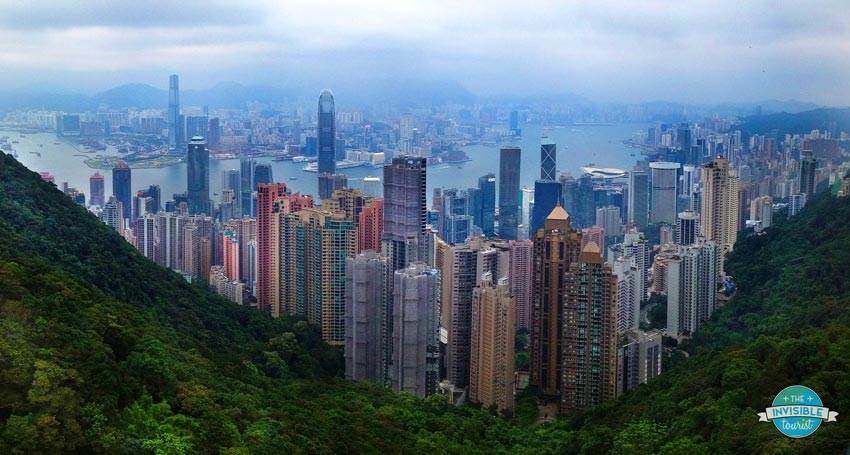 View from The Peak, Hong Kong Island