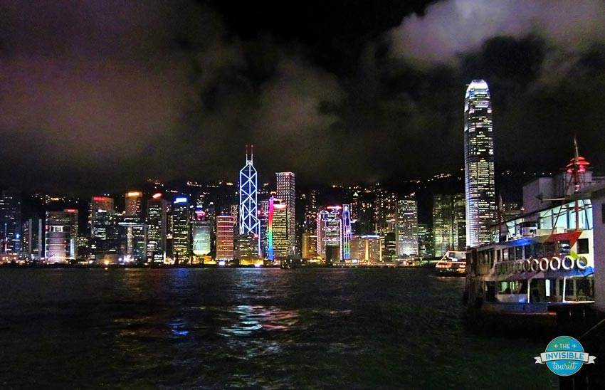 Symphony of Lights along Victoria Harbour