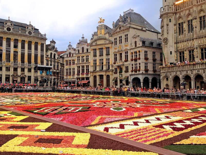 Tapis du Fleur, Brussels