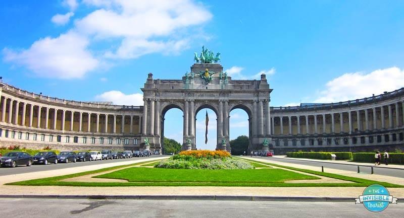 Parc du Cinquantenaire & Arc, Brussels