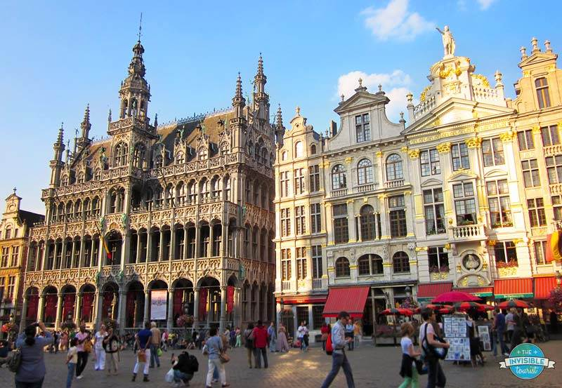 Grand Place in the afternoon