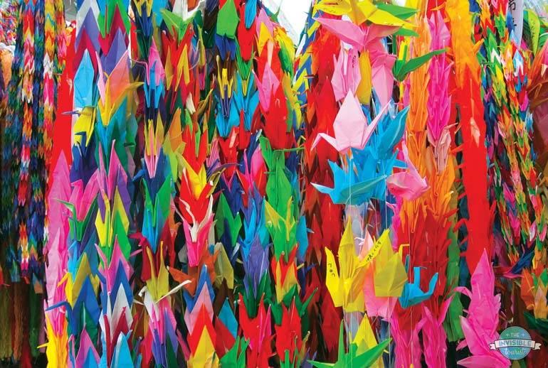 Origami in Hiroshima