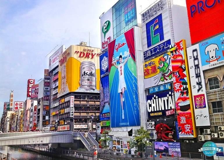 Itinéraire de 3 jours à Osaka + excursion d'une journée à Nara | The Invisible Tourist #osaka #japan #itinerary #nara #daytrip #thingstodo #osakacastle #dotonbori #invisibletourism