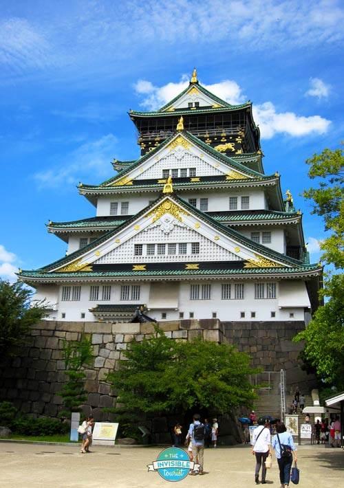 Superbe château d'Osaka