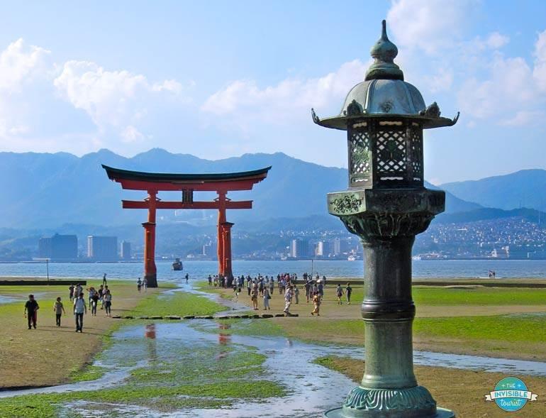 Torii Gate at Low Tide, Miyajima Island