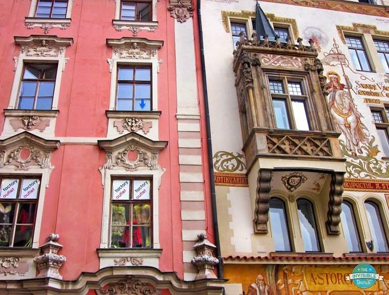 Stunning architecture in Prague