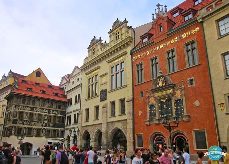Prague's medieval architecture