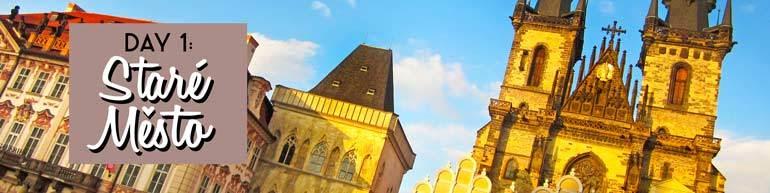 Stare Mesto Itinerary, Prague