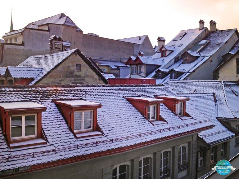 View from Hotel Bern