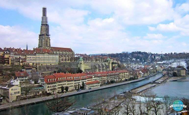 View from Kirchenfeld Bridge, Bern