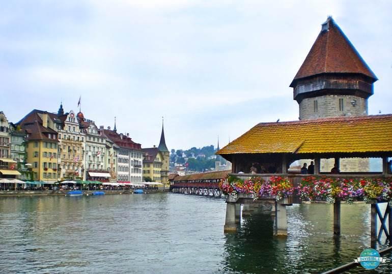 Kapellbrucke (Chapel Bridge), Lucerne
