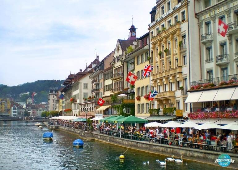 Lucerne is a must for any Switzerland itinerary