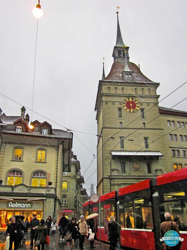 Snowy Bern in winter