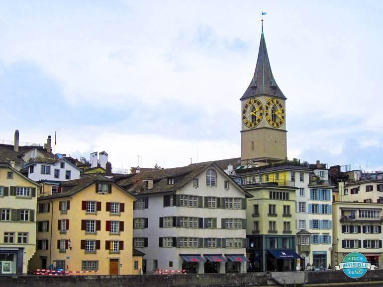St Peter's Clock Tower, Zurich