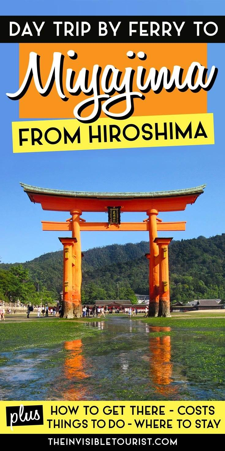 Hiroshima to Miyajima Day Trip by Ferry You'll Love
