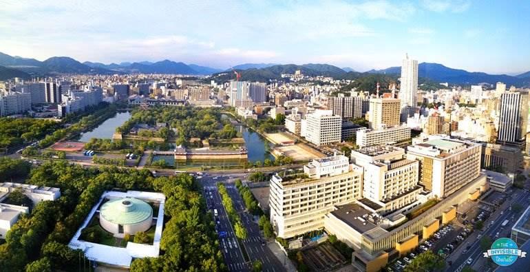 View from RIHGA Royal Hotel Hiroshima