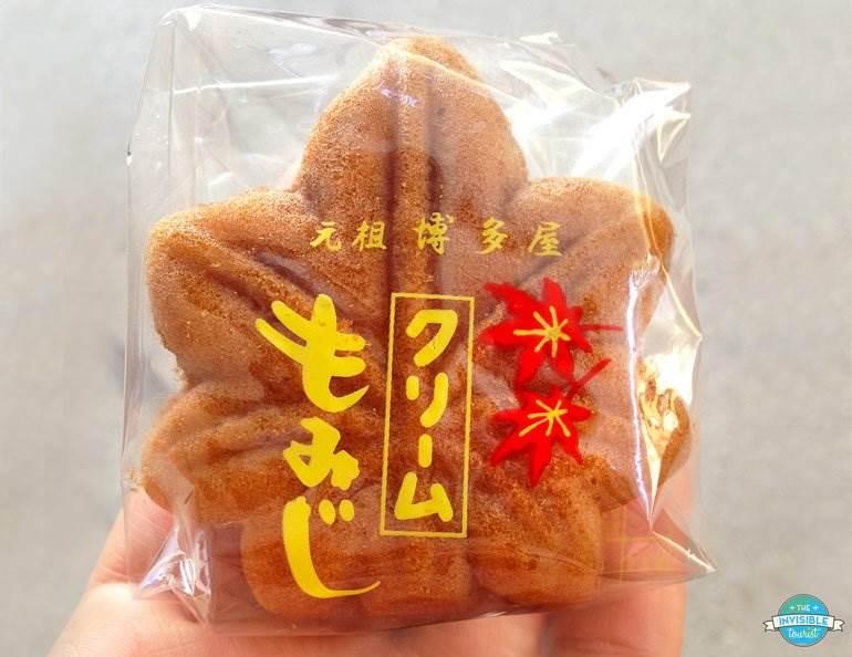 Momiji-manju, delicious mini-cake